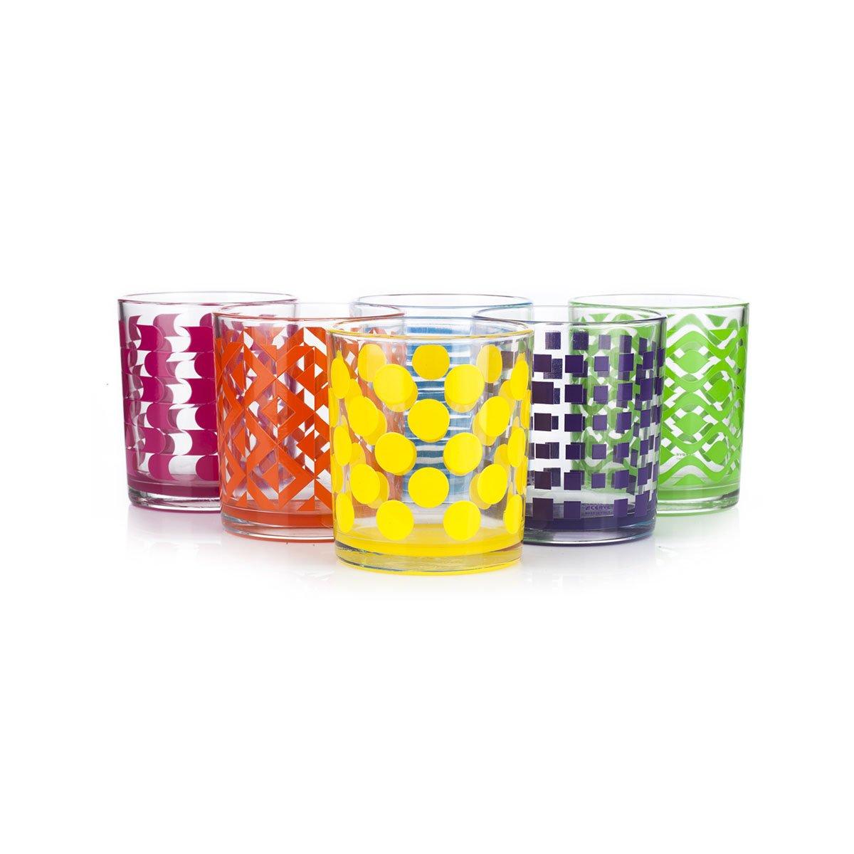 Set de 6 vasos de colores columbia 85 ml m6037016 sears - Vasos de colores ...