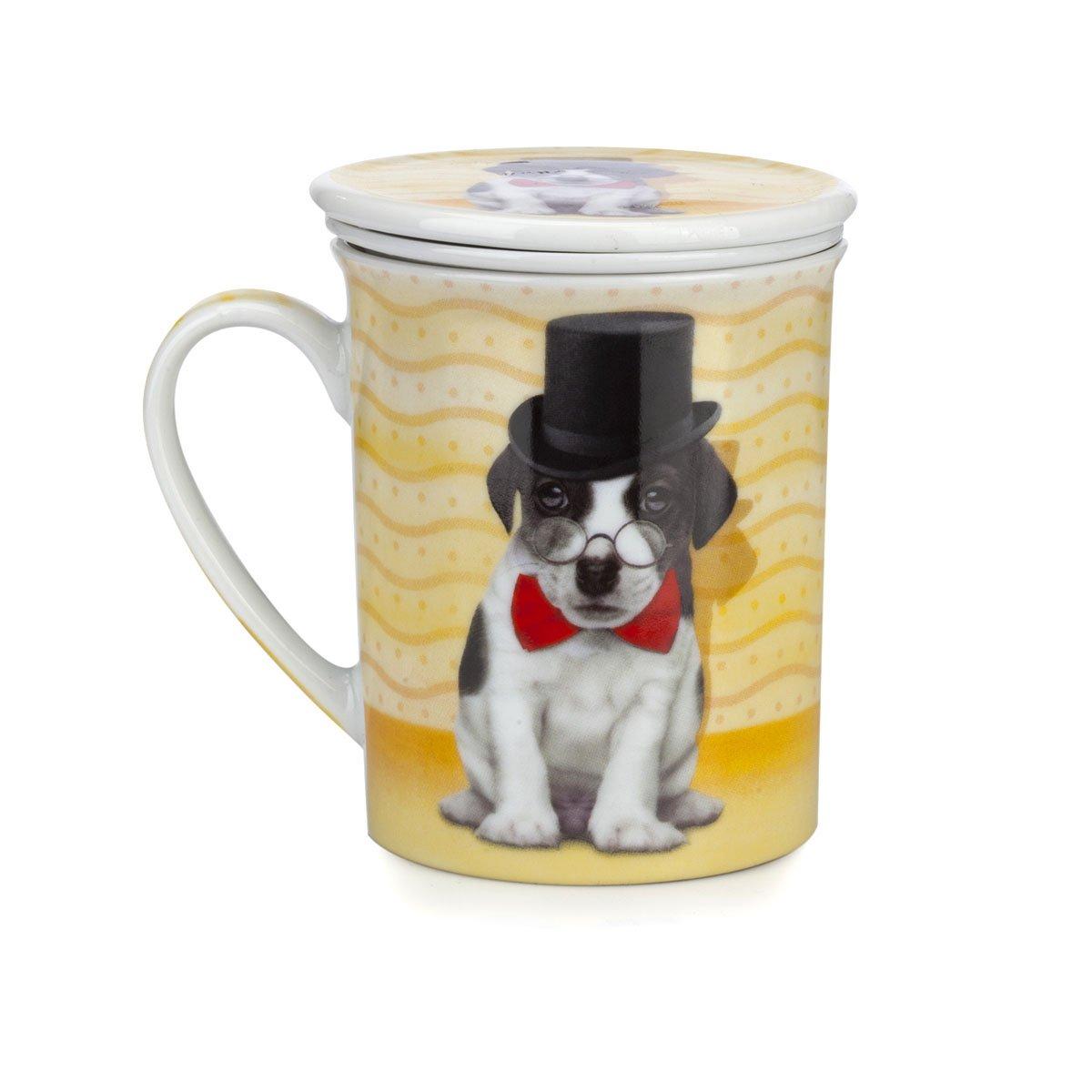 Taza de t con tapa animales 3 modelos a elegir for Tazas de te con tapa