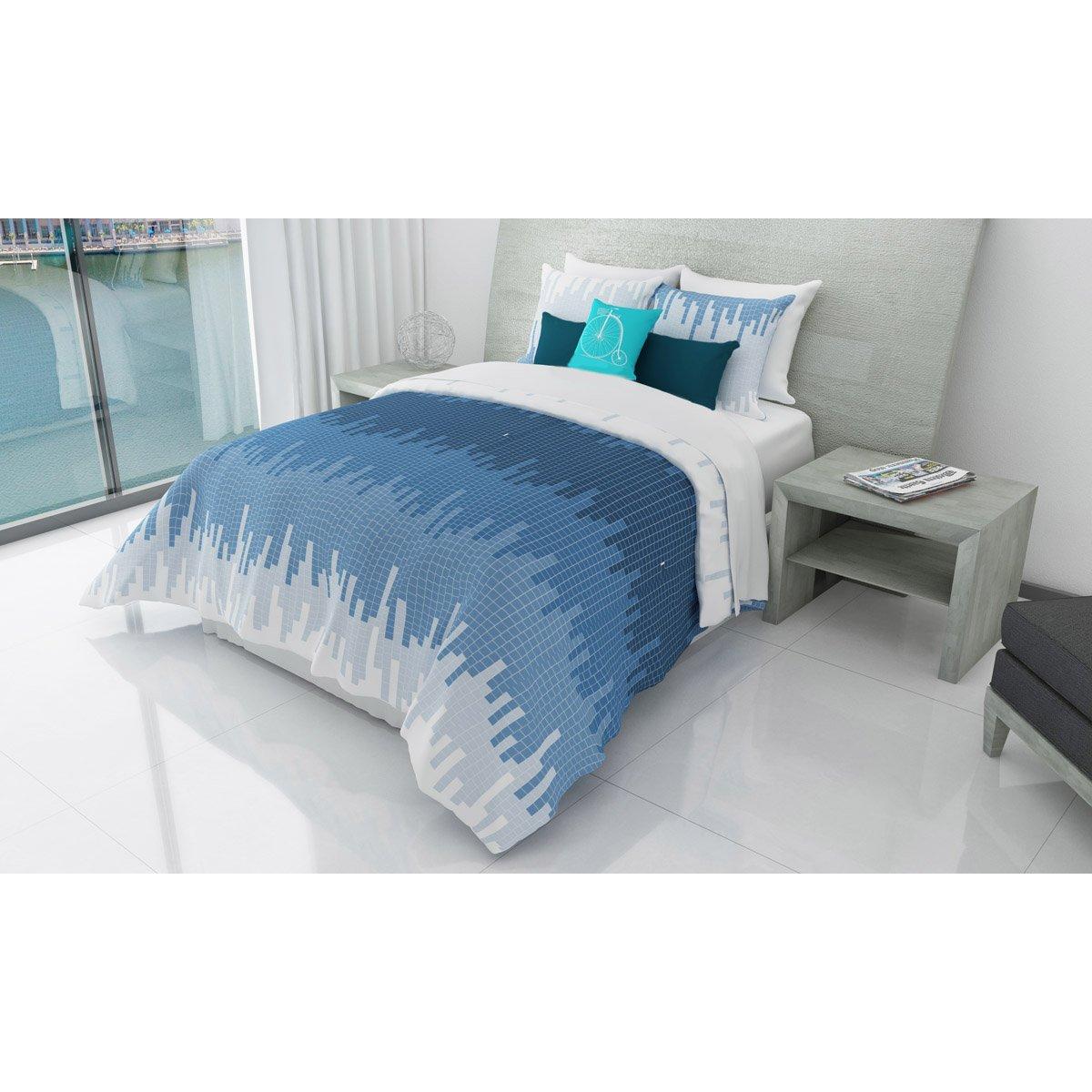 Paquete de cama cadre home nature matrimonial queen for Imagenes de cama queen size