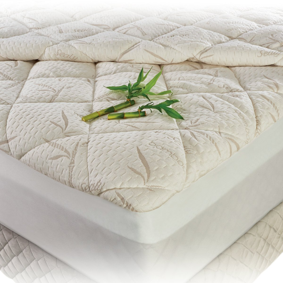 Protector para colch n bamboo sealy king size sears for El mejor colchon king size