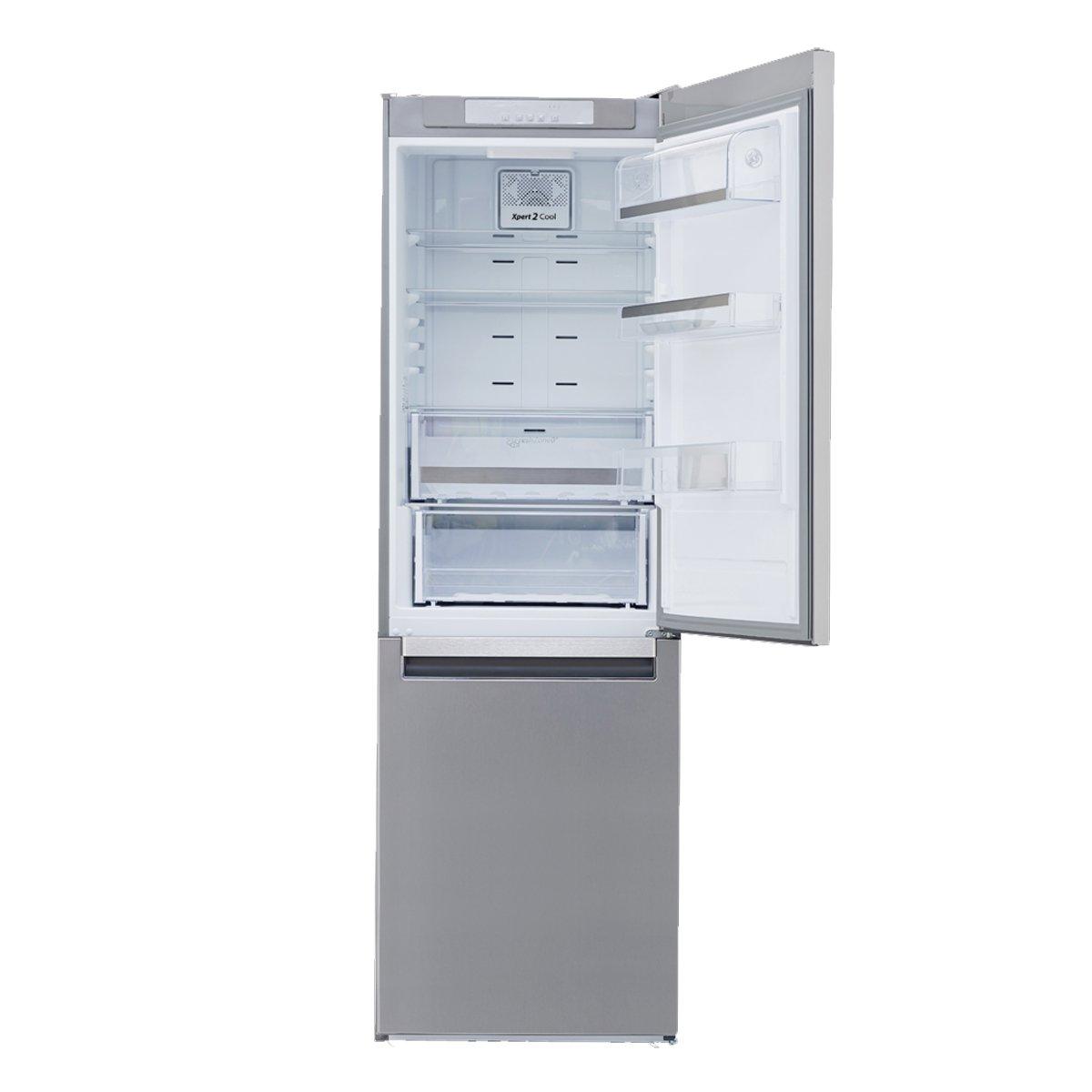 Refrigerador whirlpool button 11p wrb311dmbm acero for Refrigerador whirlpool