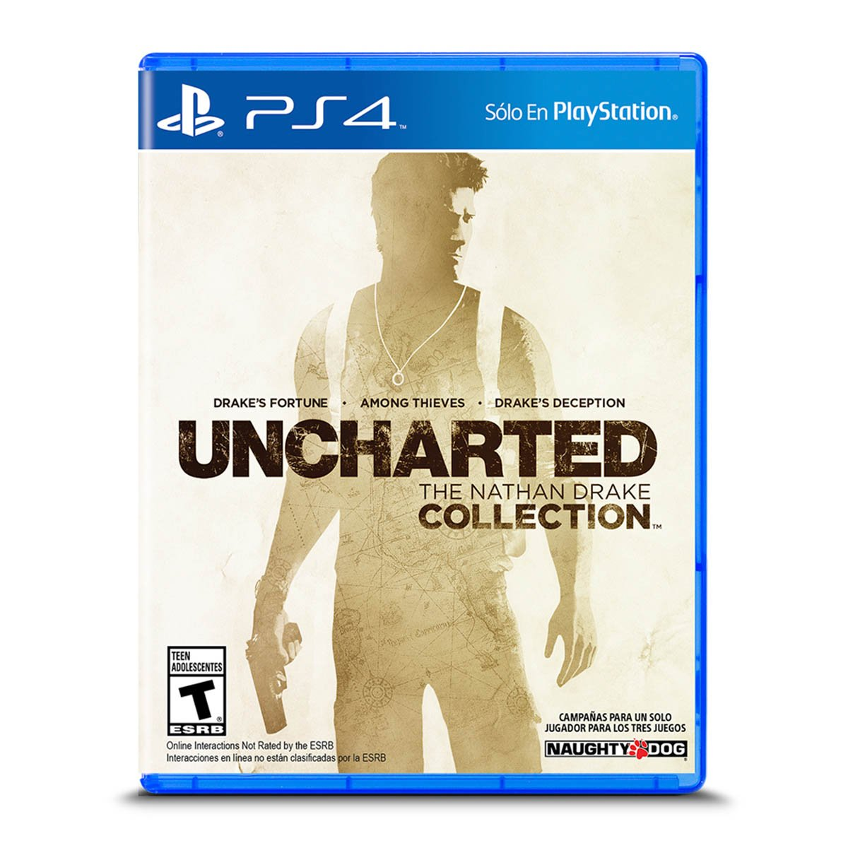 Ps4 Uncharted The Nathan Drake Collection