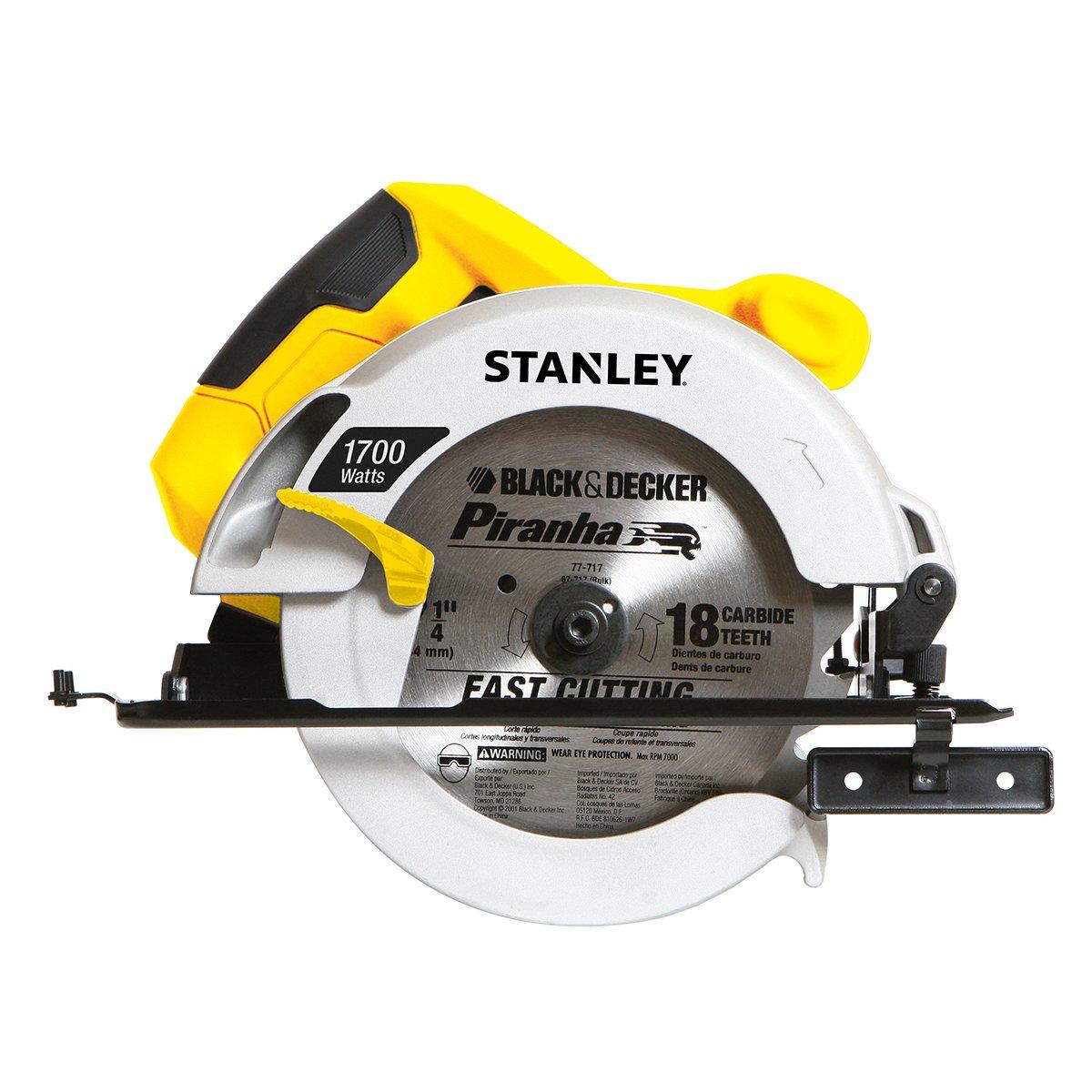 Stanley sierra circular 1700w sears com mx me entiende - Sierra circular precio ...