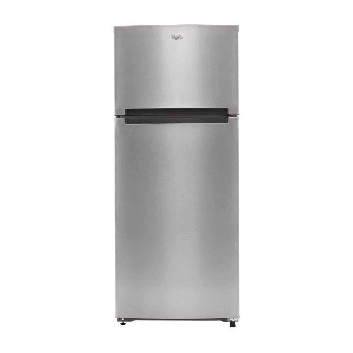 Refrigerador 2 puertas 18 p3 wt1850d silver whirlpool for Refrigerador whirlpool