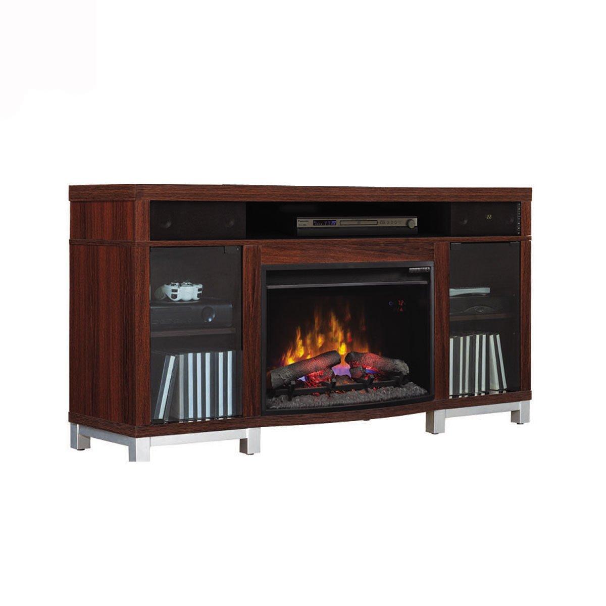 Muebles de chimenea mueble de tv con chimenea mueble - Muebles de salon con chimenea integrada ...