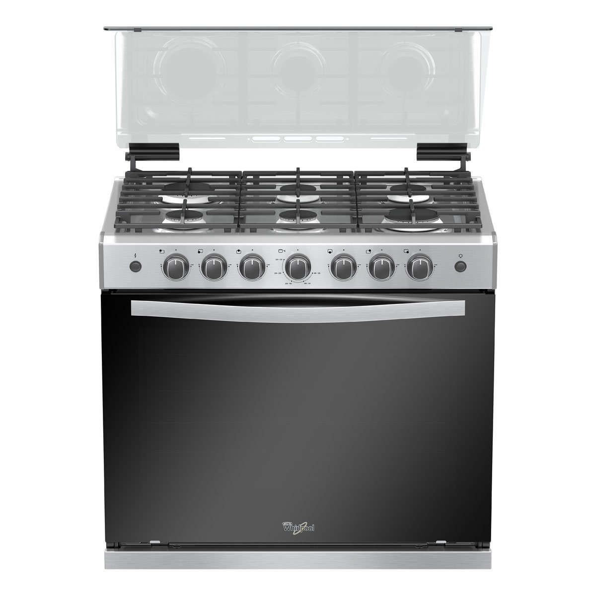 Hp 30 capelo 6 quemadores we5846s whirpool sears com mx for Estufa whirlpool 6 quemadores precio
