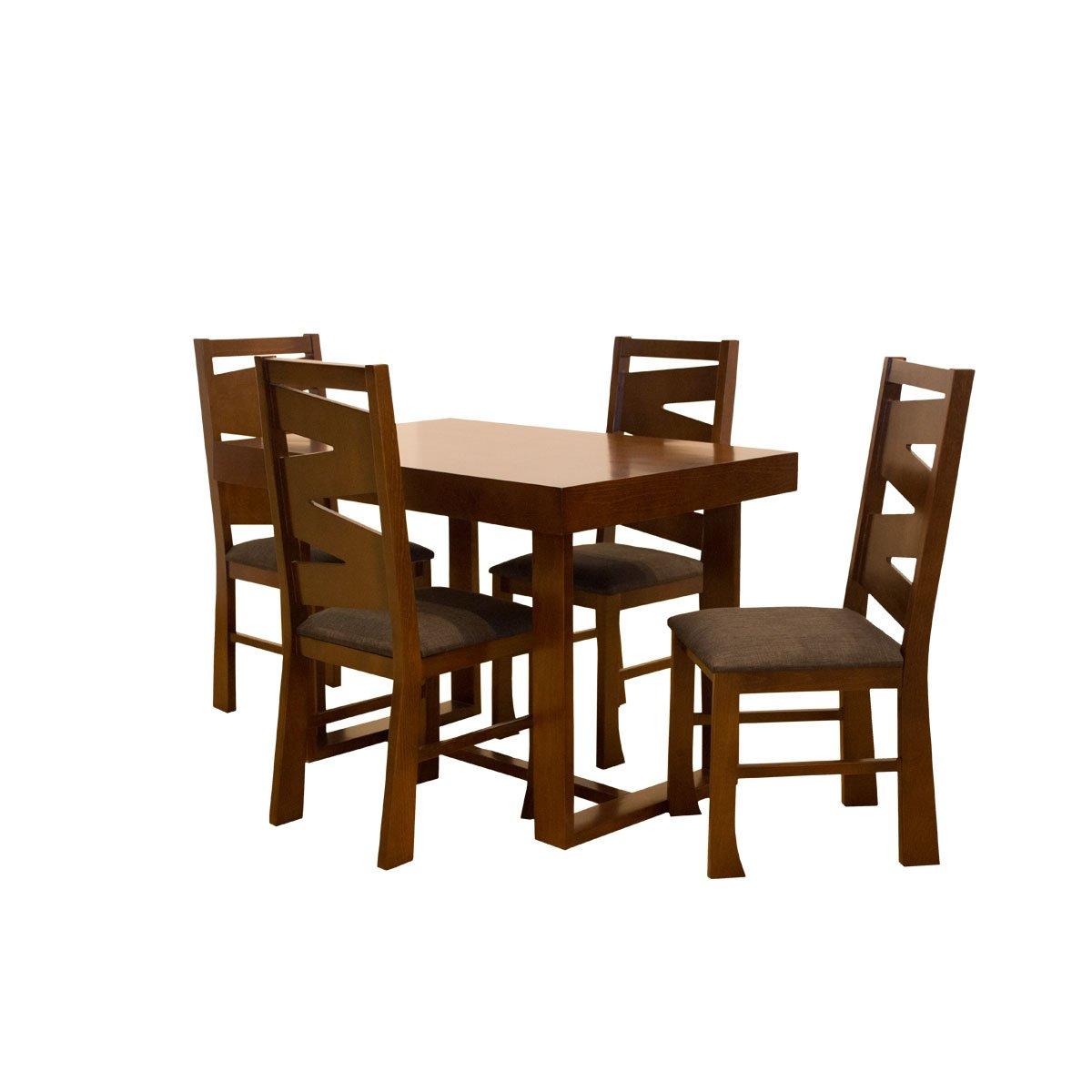 Desayunador Con 4 Sillas Madera De Pino Muebles El Ngel Sears  # Muebles Fabricas De Francia