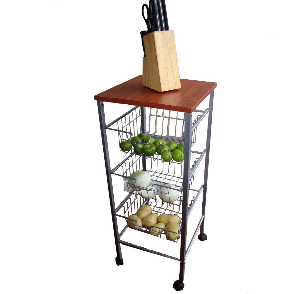muebles de cocina con ruedas mueble valencia 3 canastillas con ruedas sears com mx