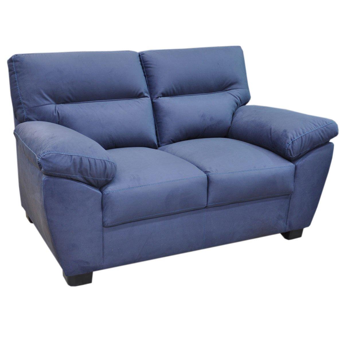 Love Seat Bartra Tapiz Tela Azul Muebles Liz Sears Com Mx Me  # Muebles Liz Sears