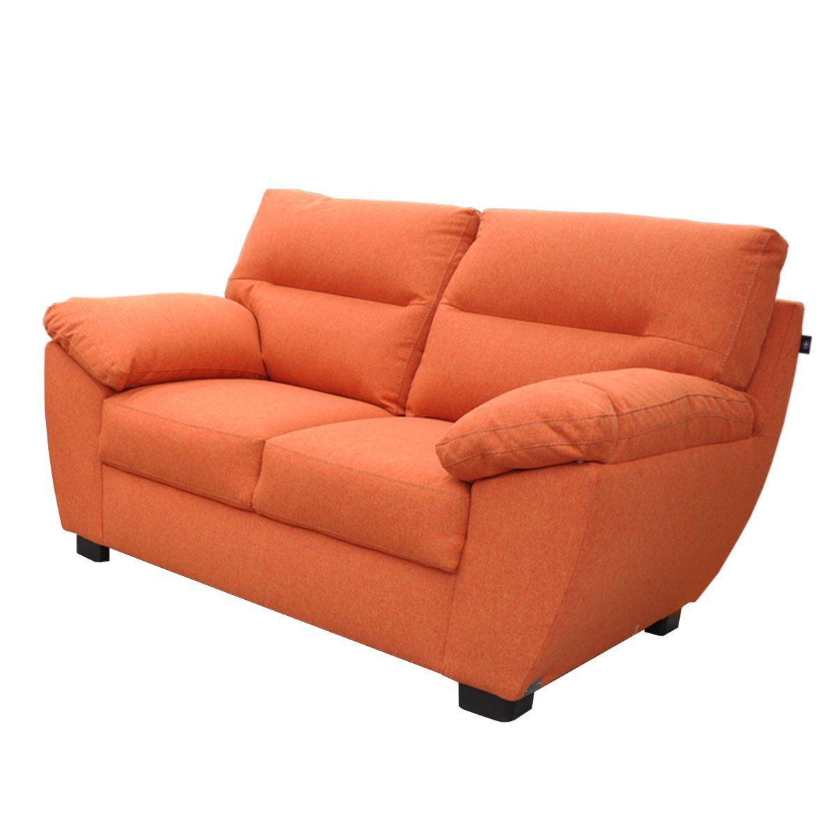 Love Seat Oxnard Tapiz Tela Naranja Muebles Liz Sears Com Mx  # Muebles Liz Sears