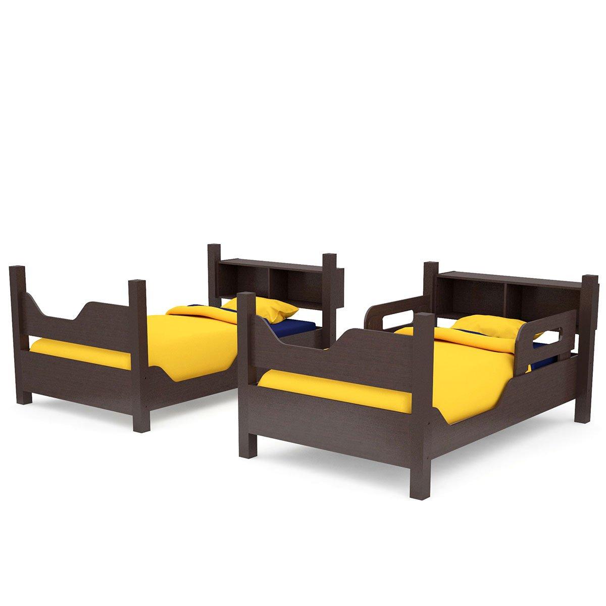 Litera escada con 2 camas individuales gemelas sears com for Recamaras con camas gemelas