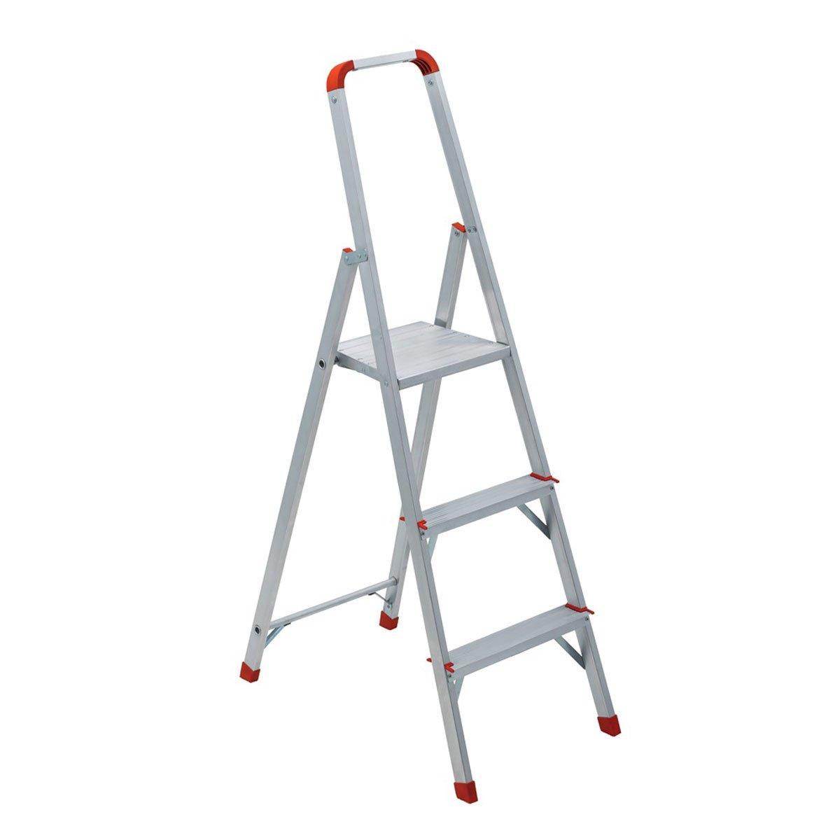 Escalera de tijera con 3 escalones y plataforma sears for Escaleras con plataforma precios