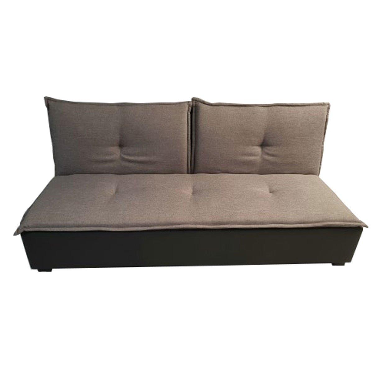 Home Nature sofá cama lino piel gris   SEARS.COM.MX - Me entiende!
