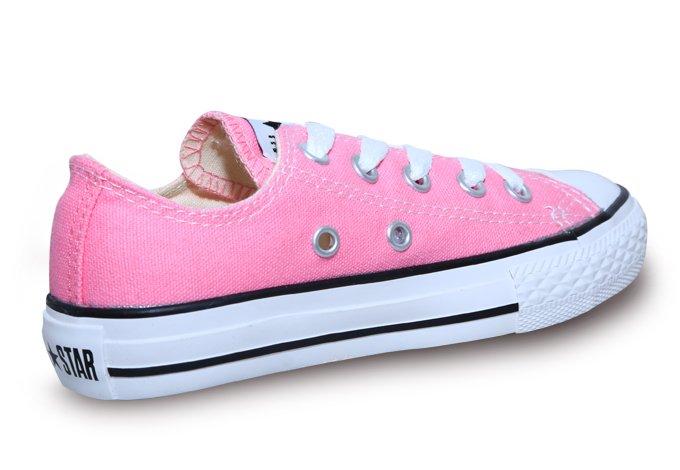 tenis converse rosa claro