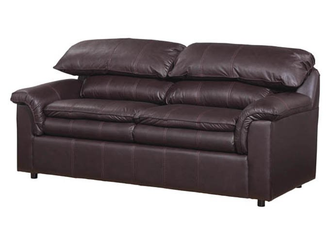 Sof cama matrimonial nicole chocolate vinil sears com for Sofa cama matrimonial