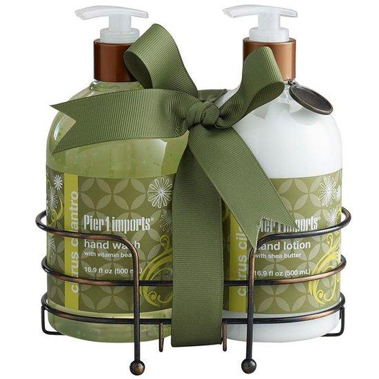 Juegos De Baño Sears: fragancias set de baño citrus cilantro set de baño citrus cilantro