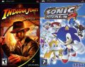 2x1: Indiana Jones + Sonic Rivals 2 (PSP)
