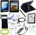 TsirTech 15-Item Accessory Bundle for New Apple iPad 3G tablet / Wifi model 16GB, 32GB, 64GB