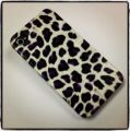 Funda morada animal print iPhone 4g4s
