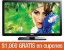 PANTALLA DE LED PHILIPS 49 PULGADAS PFL470  incluye  $1,000 GRATIS en cupones para tu siguiente compra