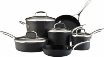 Bateria de Cocina Kitchen Aid de 10 Piezas Mod. 82544
