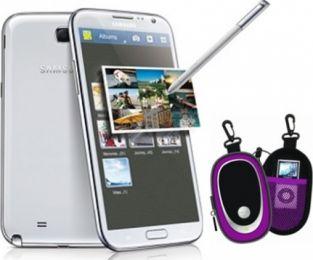 Celular Telcel Samsung N900 Galaxy Note III Blanco Incluye Bocina Portatil
