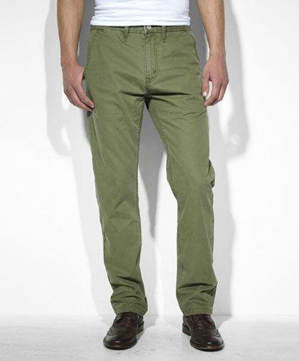 男士绿色裤子搭配