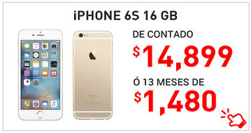 Celular Amigo Kit Telcel iPhone 6S 16Gb 14899