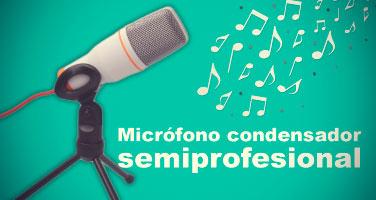 Micrófono Semiprofesional*