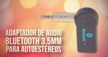 AdaptadorAudio 3.5MM Bluetooth*