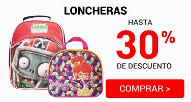 G. Loncheras y lapiceras 30%