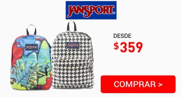 Mochila Jasport ****10 $359
