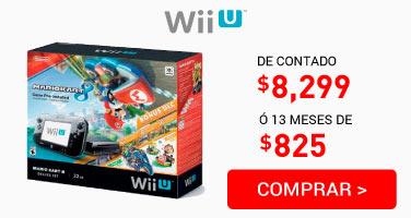 Consola Wii U Mario Kart 8