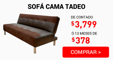22 Sofa cama Tadeo