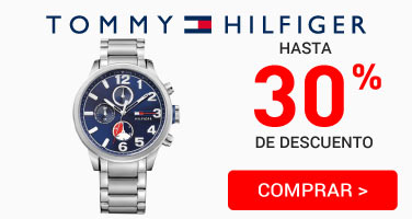 Relojes Tommy 30%