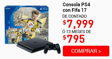 Consola PS4+Fifa