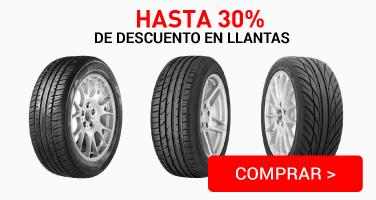 G. LLANTAS 30%