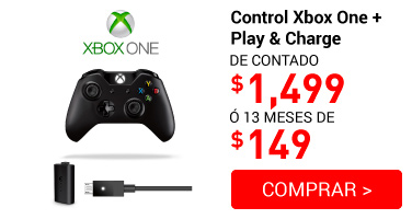 control Xbox One+ Play&charge