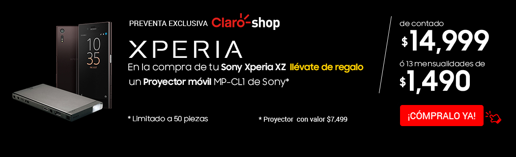 Sony Xperia+Proyector