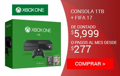 Consola Xbox ONE 1tb FIFA 17