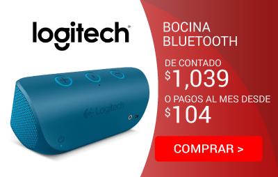 Bocina Logitech X300 Bluetooth Azul