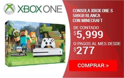 Consola Xbox One S 500gb Minecraft