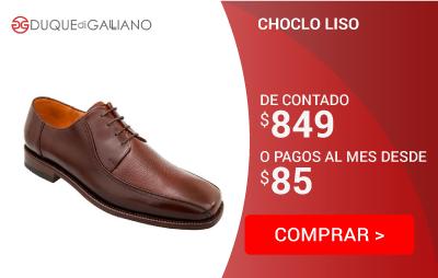Choclo Liso Duque Di Galliano 8037C