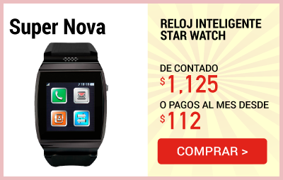 Reloj Inteligente Star Watch Super Nova