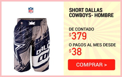 Short Nfl Dallas Cowboys- Hombre