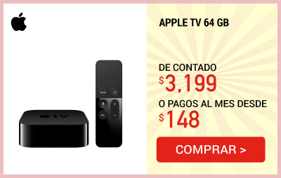 Apple TV 64gb-Spa
