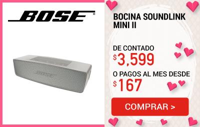 20 Bocina Bose SoundLink Mini II BT Perla