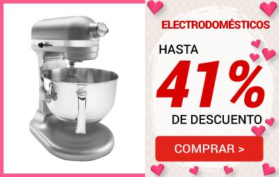 20 electrodomésticos 41%
