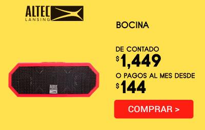 Bocina Altec Lansing IMW448DR JACKET H203 Roja