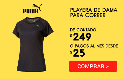 Playera Dama Correr Pe_Running_S/s Tee W Puma 5138